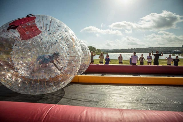 Giant Human Hamster Ball Rentals   #1 Rated from Games2U